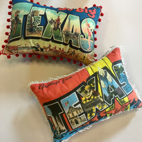 Texas Pillows