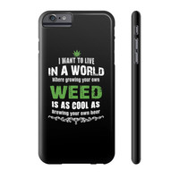 World of weed Phone Case