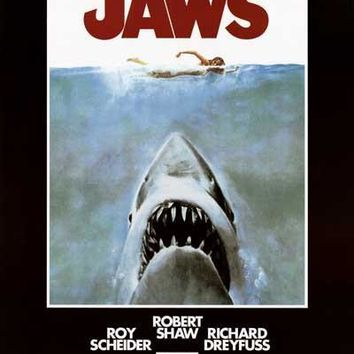 Jaws Movie Poster 24x36