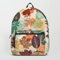 Autumn Leaves 2 Backpack by Fimbis