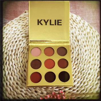 Golden kylie eye shadow kelly 9 color kyshadow