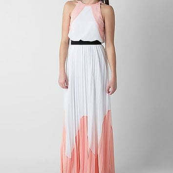 Soieblu Pleated Maxi Dress