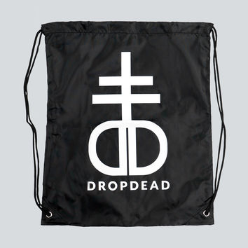 Blasphemy Drawstring Bag