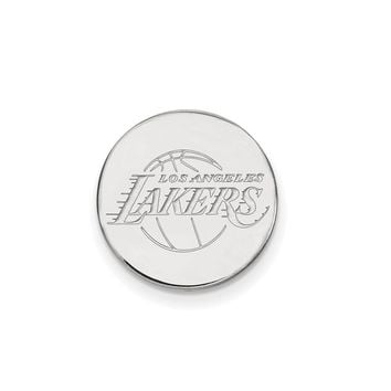 NBA Los Angeles Lakers Lapel Pin in Sterling Silver