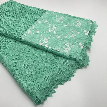 New Fashion African Cord/ Guipure Lace Fabric For Women Dress