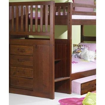 Audrey Staircase Bunk Bed with Trundle