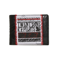 Twenty One Pilots Sketchy Panels Bi-Fold Wallet