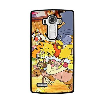 WINNIE THE POOH AND FRIENDS Disney LG G4 Case Cover
