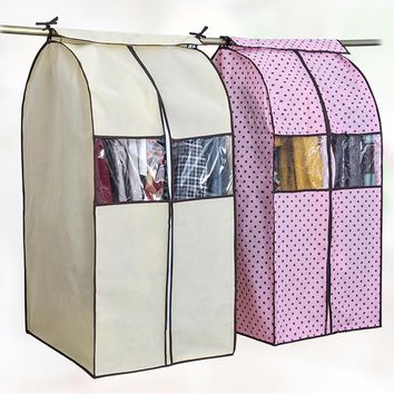 Large Capacity Cloth Wardrobe Storage w/Cover Protector
