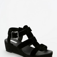 Urban Outfitters - Cooperative Caged T-Strap Platform Sandal
