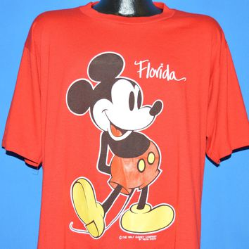 90s Mickey Mouse Disney World Florida t-shirt XL