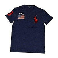 Polo Ralph Lauren Men's Big Pony USA Custom Fit T-Shirt