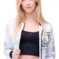 Fly Eagle Womens Bomber Jacket