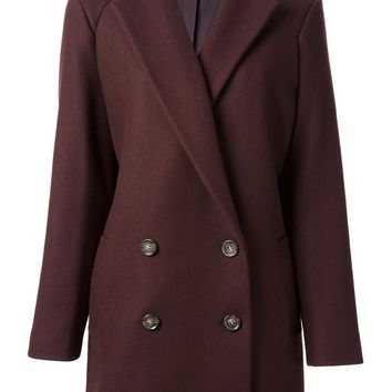 Theory 'Nest' double breasted coat