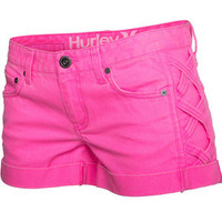HURLEY 81 Novelty Womens Denim Shorts