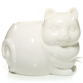 Everyday Ceramic Kitty W/LED : Electric Wax Melts Warmer : Yankee Candle