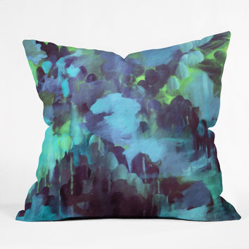 Stephanie Corfee Bluemarine Throw Pillow