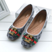 ''Gucci '' Women Fashion Flat shoes