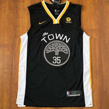 Men's Nike NBA Golden State Warriors KEVIN DURANT #35 Swingman Jerseys Four Variants