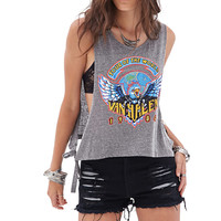 Destroyed High-Waist Cutoffs