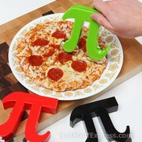 Pizza Pi Cutter Double-Wheel Mathematical Symbol Pizza Cutter, Fun & Unique Gifts