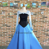 Ariel Dress, Ariel Costume, Ariel Cosplay, Princess Ariel Dress, Blue Ariel Dress, Adult Ariel Costume, The Little Mermaid Ariel Costume