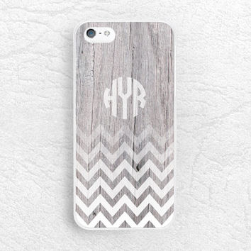 Monogram Chevron wood print Phone Case for iPhone 6 iPhone 5 5s 5c, Sony z1 z2 z3, LG g2 g3 nexus 6, Moto X Moto G, personalized custom name