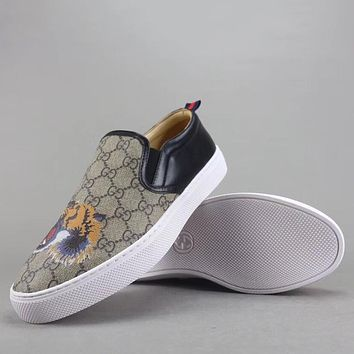 Trendsetter Gucci  Women Men Fashion Casual Loafers  Shoes