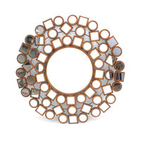 Teton Home Metal Wall Mirror
