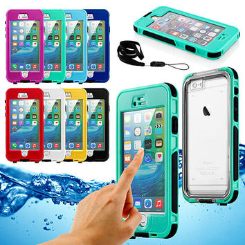 Waterproof Shockproof Dirt Snow Proof Durable Touch Screen Case Cover