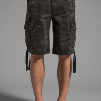Rock Revival Cargo Short in Black Camo from REVOLVEclothing.com