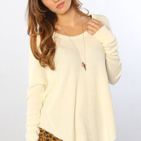The Billie Jean Thermal in Ivory