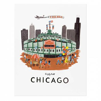 Chicago Art Print by RIFLE PAPER Co. | Made in USA