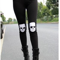 Skull Crop Leggings from SarahHunt
