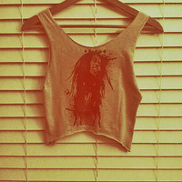 Bob Marley Tank Wearable Art Tank/Tshirt