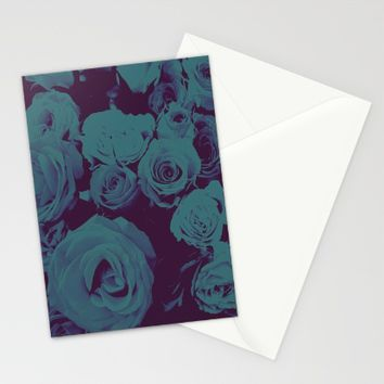 Mother May I -blue- Stationery Cards by Ducky B