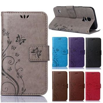 DCCKHY9 Luxury Retro PU Leather + Soft Silicon Wallet Flip Cover Case For Coque Samsung Galaxy S5 G900F Sm-g900F I9600 Case phone