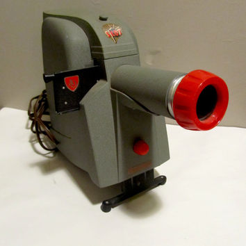 Vintage 1950s American Optical Skot Slide Projector Model 4901, All Works