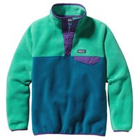Patagonia 'Synchilla® Snap-T®' Fleece Pullover (Little Girls & Big Girls) | Nordstrom