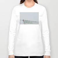 morning surf Long Sleeve T-shirt by RichCaspian
