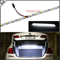 Super Bright HID White 18-SMD-5050 LED Strip Light For Car Trunk