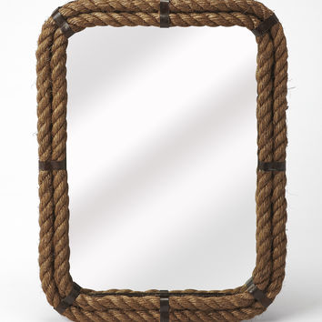 Butler Darby Rectangular Rope Wall Mirror 3962120
