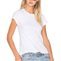 RE/DONE 1960's Slim Tee in Optic White