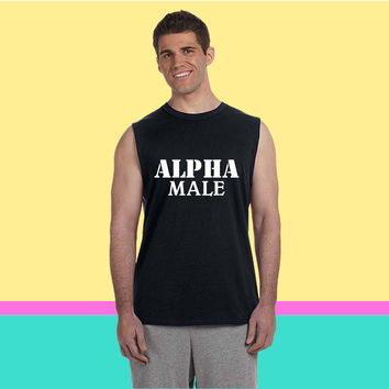 Alpha Male Sleeveless T-shirt