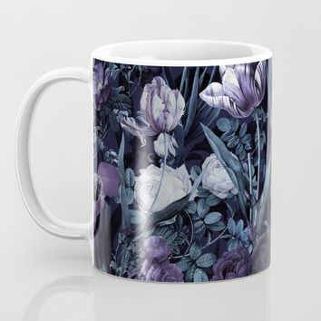 EXOTIC GARDEN - NIGHT XII Coffee Mug by burcukorkmazyurek