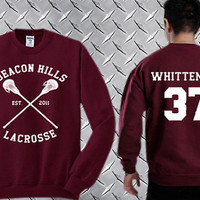 Jackson Whittemore 37,Teen Wolf  Custom Crewneck Sweatshirt for Unisex adult made by USA