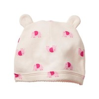 Gap Baby Factory Elephant Print Bear Hat