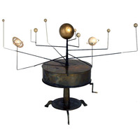 19th Century Astronomical Brass Orrery