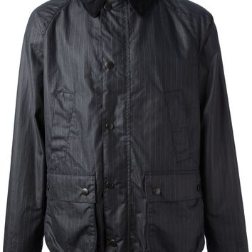 Barbour Pinstriped Waxed Jacket