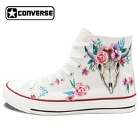Floral Ox Painted Converse
